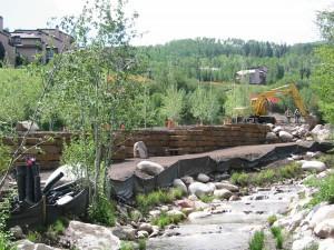 Mayfly Trail construction